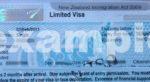 Лимитированная виза в Новую Зеландию